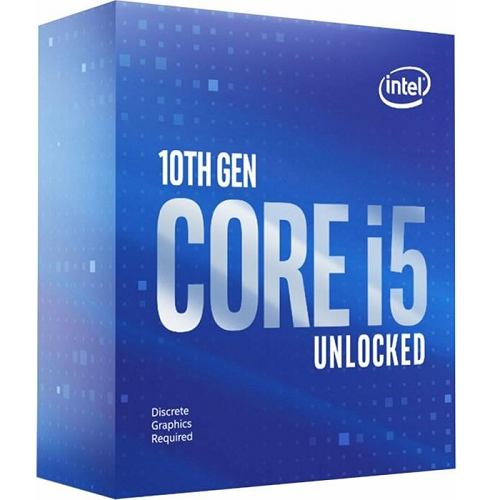 Процессор Intel CORE I5-10600KF (4100MHz, 6C/12T, 12MB, 125W)
