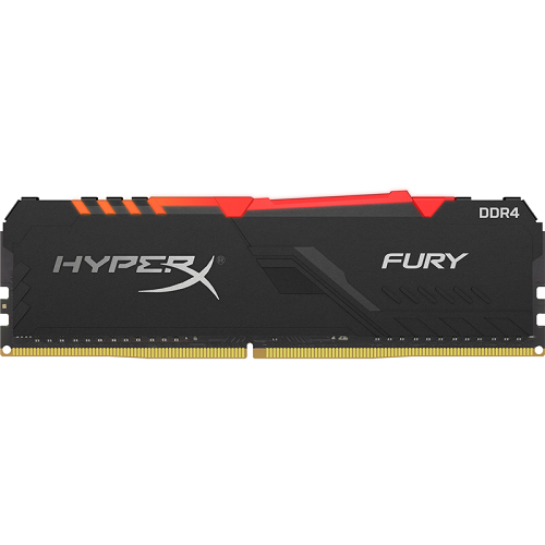 Модуль памяти Kingston HyperX Fury 16GB 3733MHz DDR4 RGB