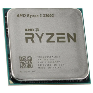 Процессор AMD RYZEN 3 3200G (3600MHz, 4C/4T, 4MB, 65W)